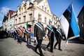 Day of Resistance procession in Tallinn.