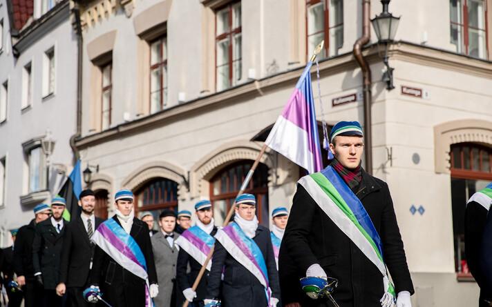 В Таллинне и Эстонии отметили День сопротивления.