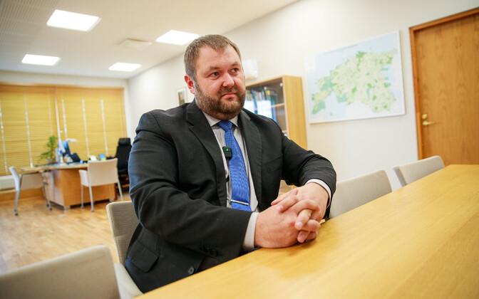 Minister of the Environment Rene Kokk