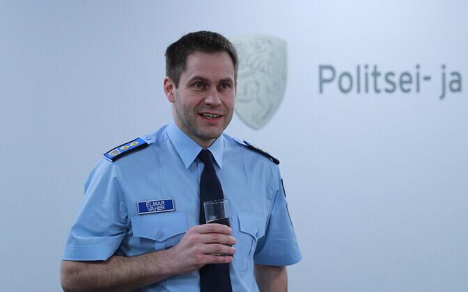 Гендиректор Департамента полиции и погранохраны Эльмар Вахер.