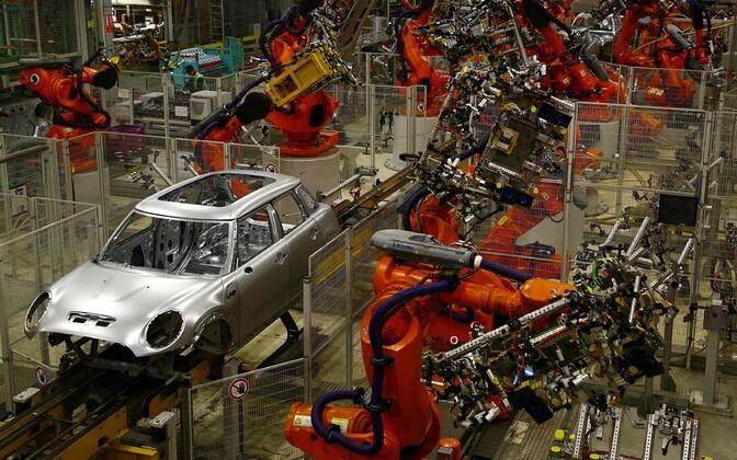 BMW Minide tootmise tehas Oxfordis.