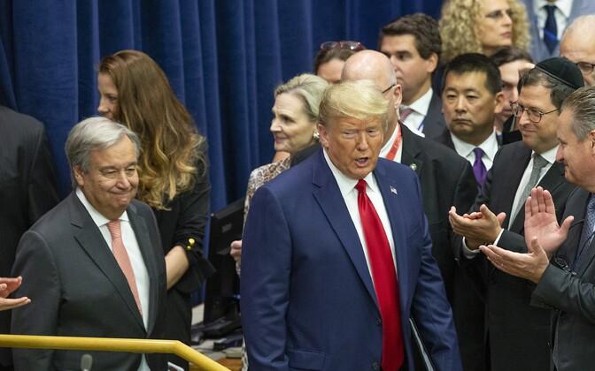 Donald Trump ÜRO-s.