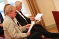 Estonia huku ohvreid esindavad Lennart Berglund (paremal) ja Lasse Johnsen