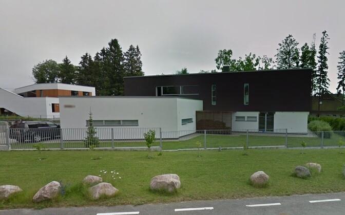 Aivar Rehe kodumaja, kust ta esmaspäeva hommikul lahkus.