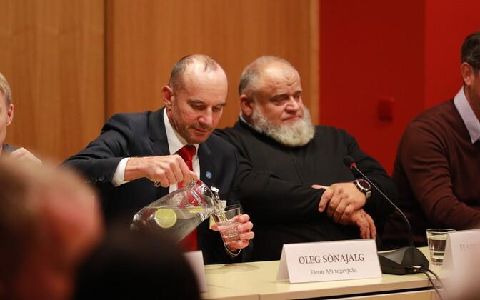 Oleg Sõnajalg and Harry Raudvere.