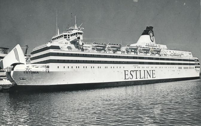 The MS Estonia.