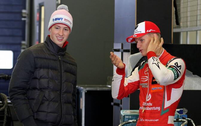 David Schumacher ja Mick Schumacher