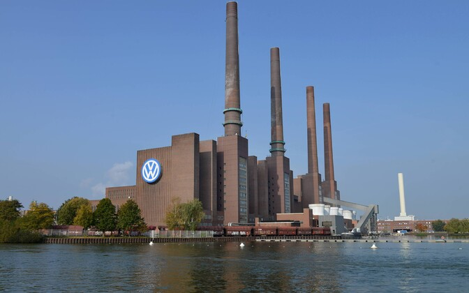 Volkswageni tehas Wolfsburgis.