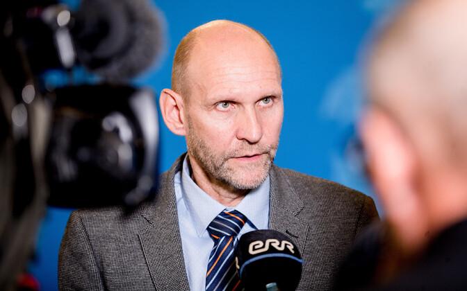Deputy Chairman of the Riigikogu Helir-Valdor Seeder