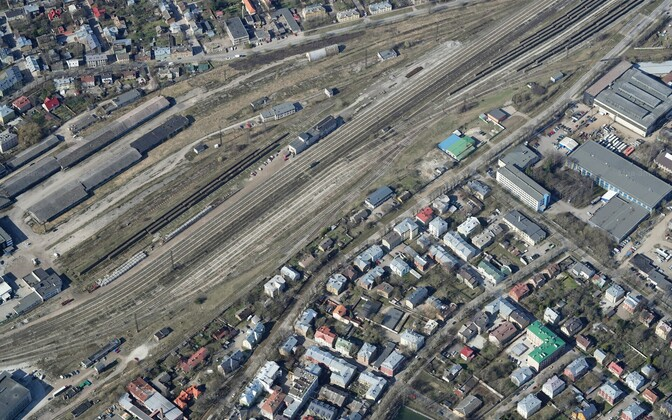 Land Board photo of Kopli Freight Train Station.