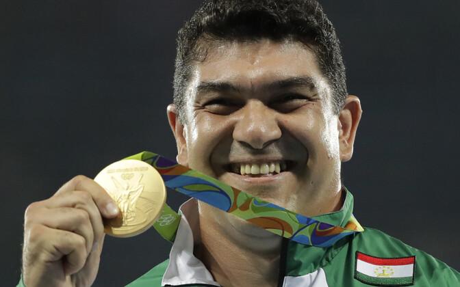 Dilšod Nazarov Rio olümpiakullaga