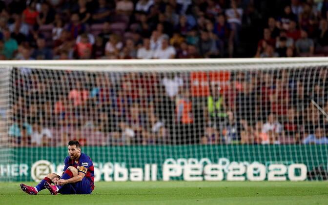 Lionel Messi mängus Villarreali vastu