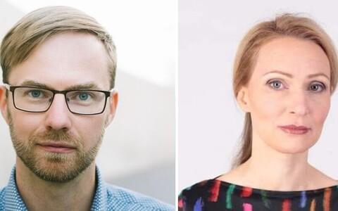 Marko Uibu ja Dagmar Narusson