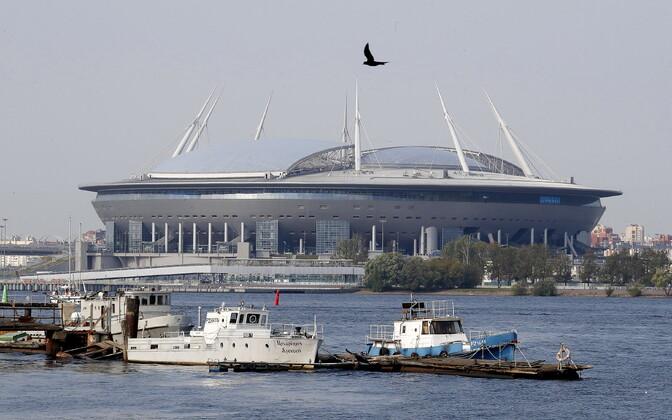 Peterburi Krestovski staadion, kus mängitakse järgmise hooaja Meistrite liiga finaal
