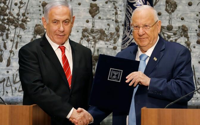 Benjamin Netanyahu ja Reuven Rivlin.