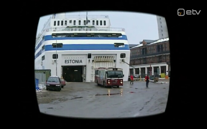 The Estonia ferry.