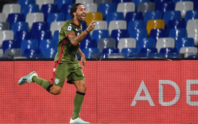 Cagliari võiduvärava löönud Lucas Castro