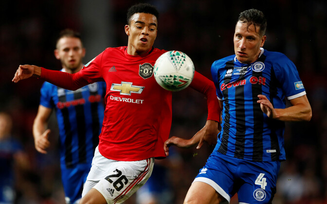 Unitedit vedas taas 17-aastane Mason Greenwood