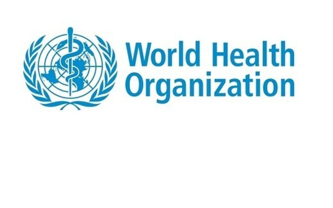World Health Organization logo.
