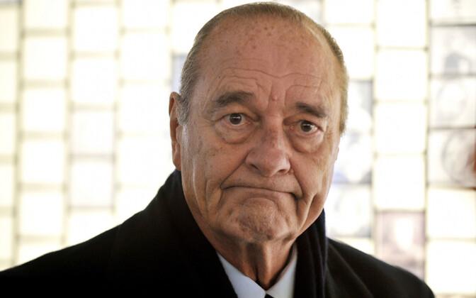 Жак Ширак (1932-2019).