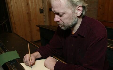 Luuletaja Veiko Märka.