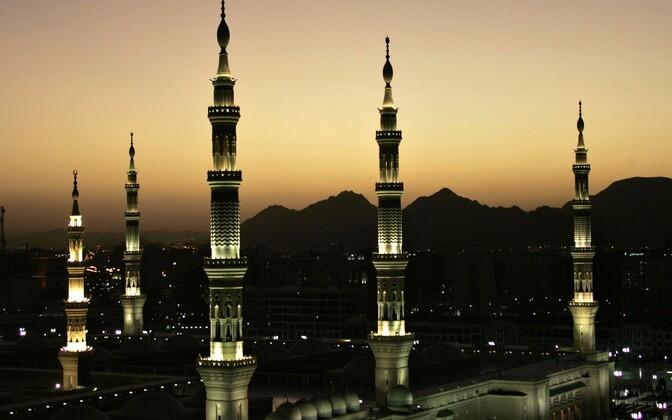 Islamiusu püha linn Medina Saudi Araabias.