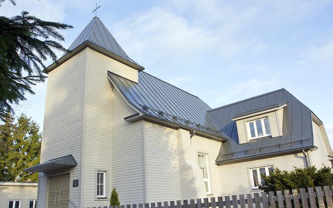 Церковь Мяхе была построена 80 лет назад.
