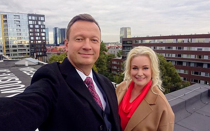 Marko Reikop ja Karmel Killandi valmistuvad EMTA uue saali avakontserdiks.