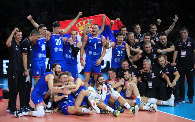 Serbia võrkpallikoondis