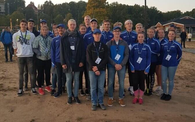 Eesti noored sõudjad Baltic Cupi avamisel