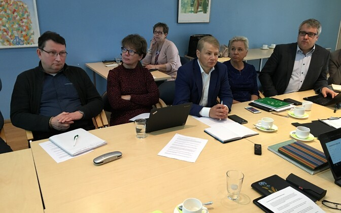 Meeting of the council of the Estonian Chamber of Agriculture and Commerce