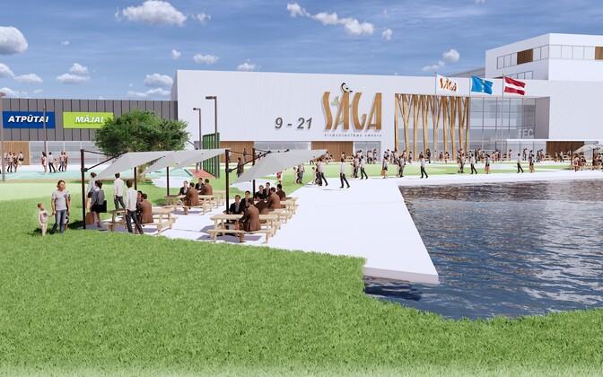 Так будет выглядеть новый торговый центр.
