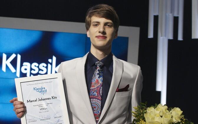 Võistluse esimene võitja Marcel Johannes Kits