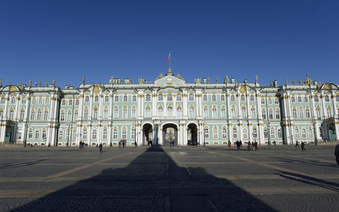 Ermitaaž on Peterburi üks vaatamisväärsusi.