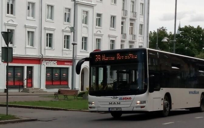 Автобусы перешли на новое расписание.