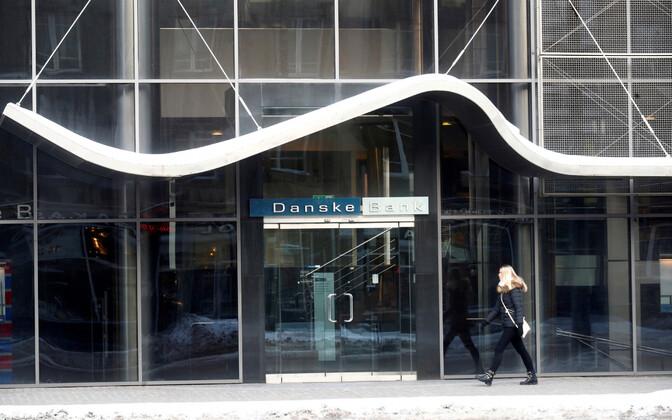 Danske Bank's office in Tallinn.