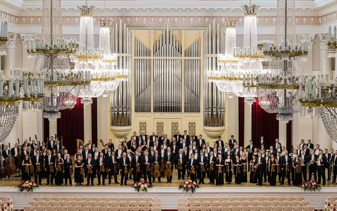 Академический симфонический оркестр Санкт-Петербургской филармонии.