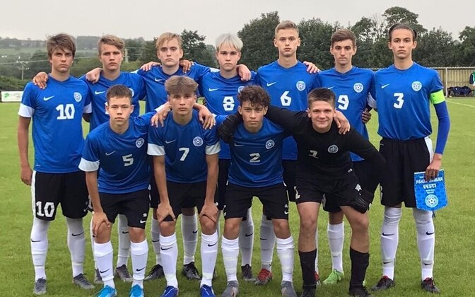 Eesti U-16 jalgpallikoondis