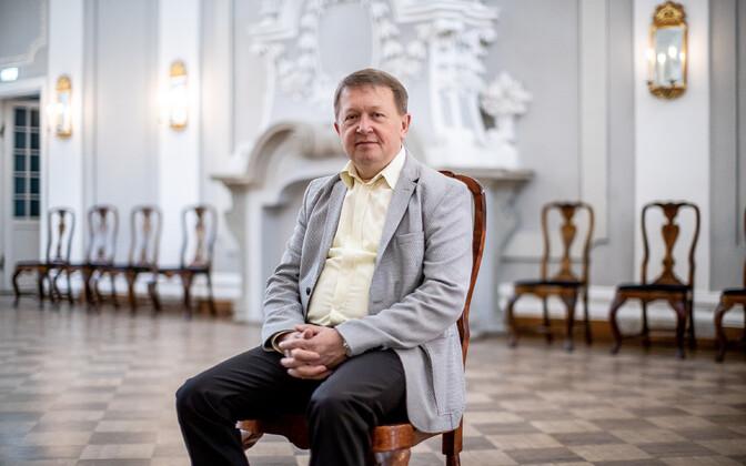 Kontserdikorraldaja ja tšellist Aare Tammesalu.