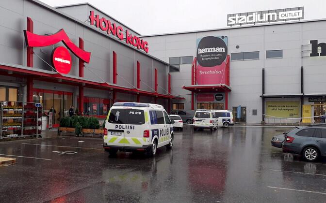 В торговом центре Куопио было совершено нападение.