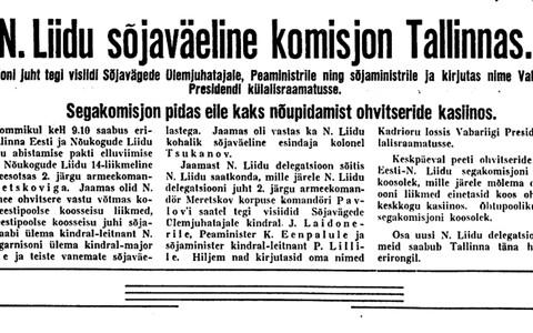 Uus Eesti 3.10.1939.