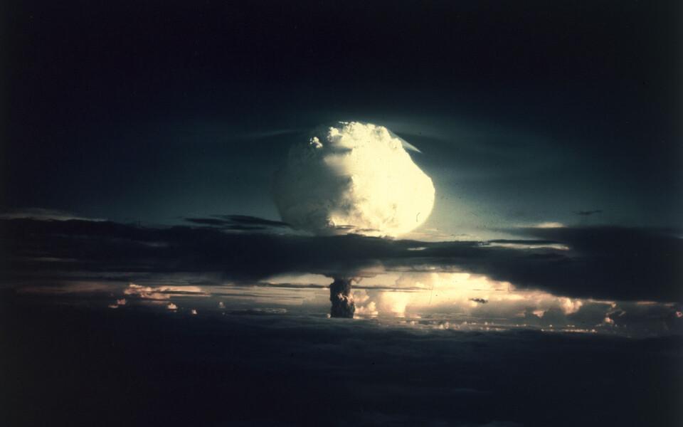 USA tuumakatsetus 1950. aastatel Marshalli saartel.
