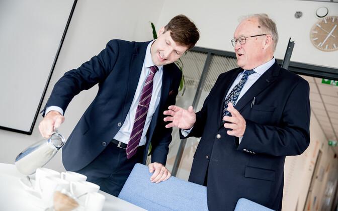 Martin Helme ja Göran Perssoni kohtumine