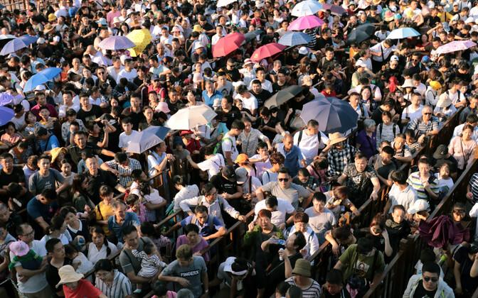 Protest Hongkongis