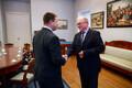 Jüri Ratas kohtus Göran Perssoniga
