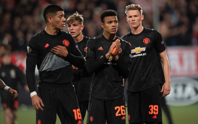 Manchester Unitedi pettunud mängijad.