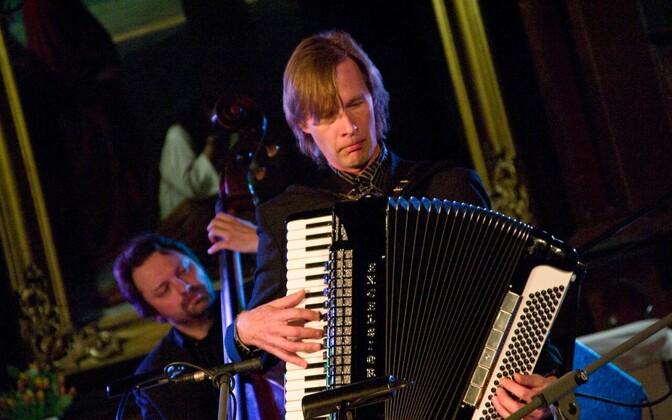 Тийт Каллусте получил высочайшую награду Международного союза аккордеонистов.