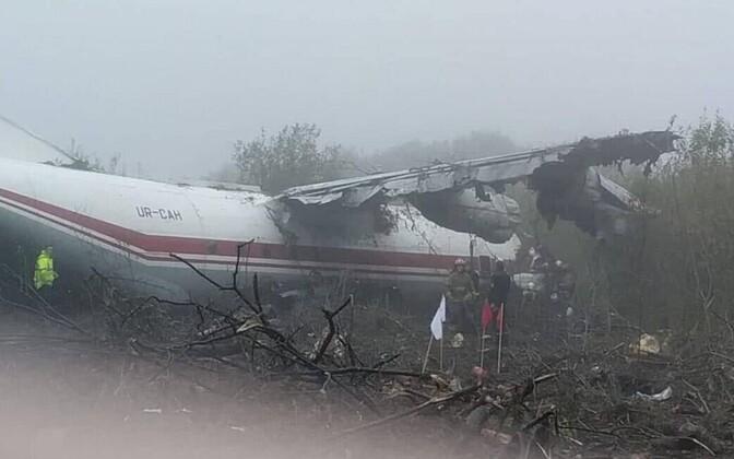 Lennuõnnetus Lvivi lähistel.
