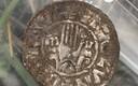 Найденные на Сааремаа серебряные монеты.