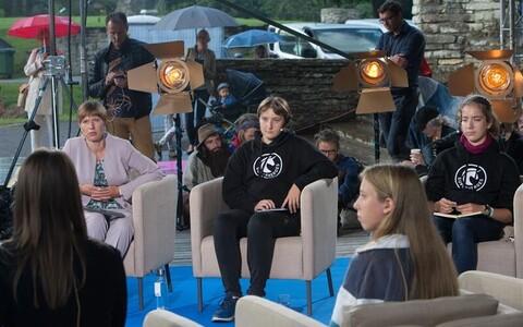 Kristin Siil Paide arvamusfestivalil